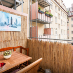 бамбуковый балкон