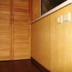 отделка бамбуковым полотном