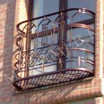 ковка французский балкон фото