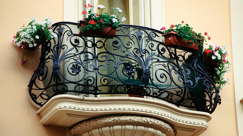 Цветы для французского балкона