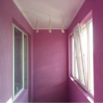 отделка балкона гипсокартоном под покраску