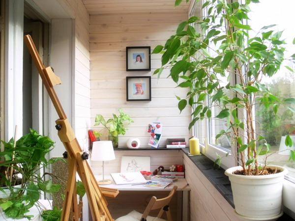 балкон в стиле прованс фото