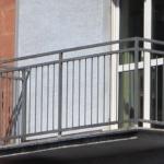 металлические перила на балкон фото