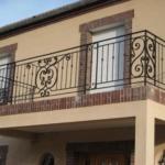 кованые перила фото на балкон