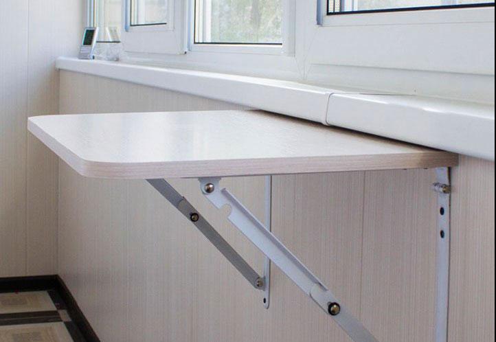 складывающийся столик на балкон