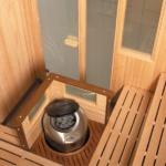 баня своими руками на балконе