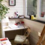 мастерская художника на балконе