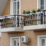 ковка перила балкон