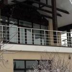 перила балкон нержавейка