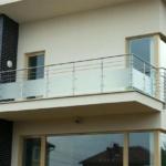 ограждения из нержавеющей стали на балкон