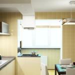 как соединить балкон с кухней