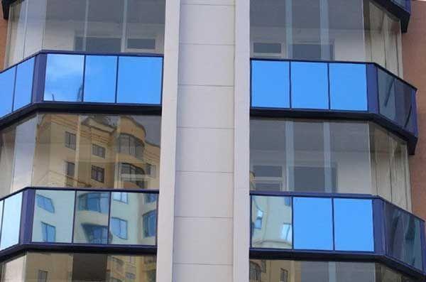 балконы с панорамными окнами