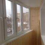 балкон с утеплением
