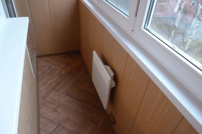 тепловой конвектор на балкон