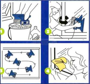 Щетка для мытья окон щетка glass wiper