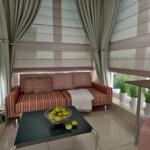балкон с диваном