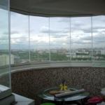 витражный балкон