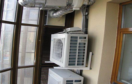 Установка кондиционера внутри балкона ремонт автомобильных компрессоров кондиционера