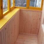 балкон под вагонку