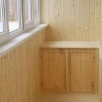 обшивка балкона под вагонку