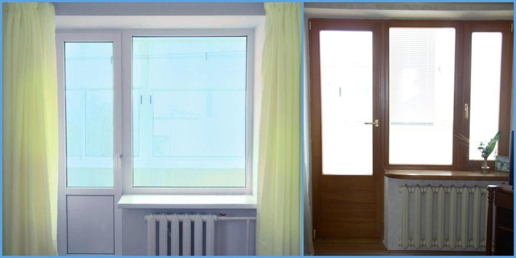 двери пвх для балкона