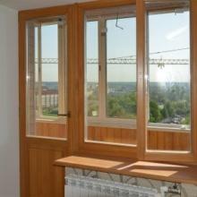 обычные двери балконные
