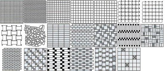 плитка мозаикой