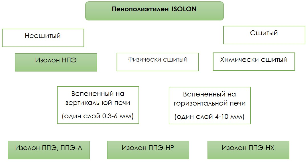 структура изолона