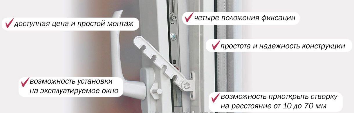 преимущества фикстора на окна