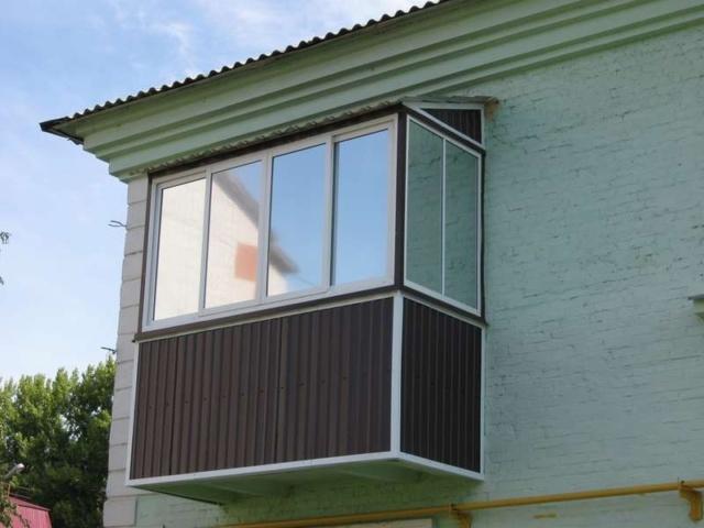 матовая пленка на балкон