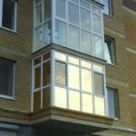 зеркальная пленка на балконе